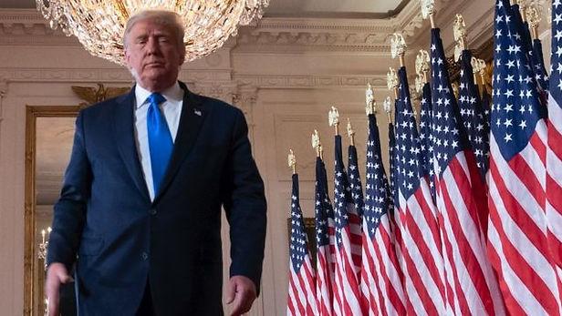 Trump aumenta impugnaciones en estados donde se impone Biden