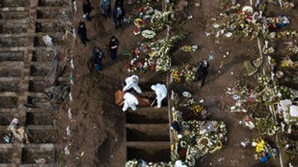 Más de un millón de personas han fallecido a causa del covid-19