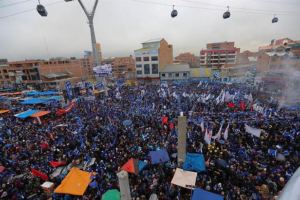 Bolivia cierra una atípica campaña electoral