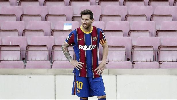 Lionel Messi no fue considerado por L'Équipe en el once ideal del 2020