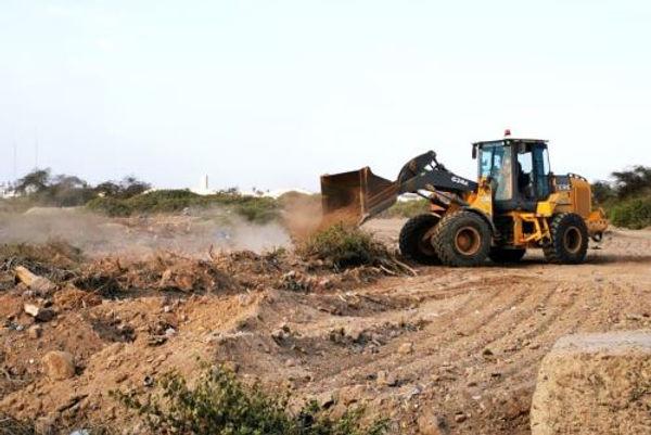Reinician trabajos de construcción de la pista de aterrizaje de aeropuerto de Chiclayo