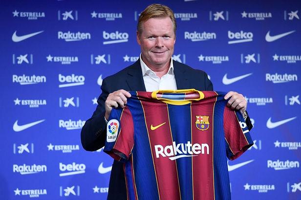 Ronald Koeman nuevo entrenador del FC Barcelona