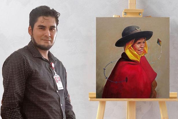 Docente norteño ocupa el primer puesto en Concurso Latinoamericano de Pintura