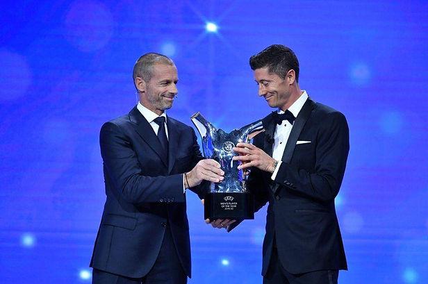 Lewandowski escogido como el mejor jugador de la UEFA