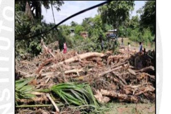 Activación de quebradas dañó 50 viviendas y dejó inhabitables otras 4