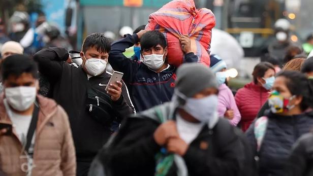 Casi 7 mil casos de covid-19  confirmados en Perú