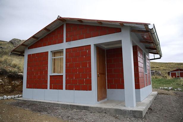 Más de 5 mil casas bioclimáticas se construyen en Apurímac, Cusco y Puno