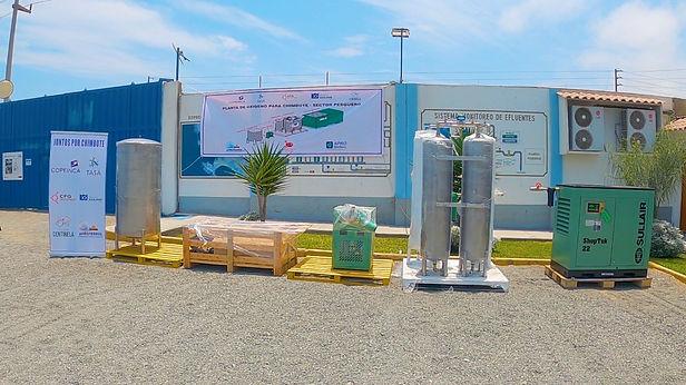 Nueva planta de oxigeno medicinal llega a Chimbote
