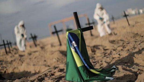 En un día se registraron 67 mil 860 nuevos casos de Covid-19 en Brasil