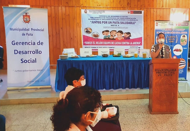 Con visitas domiciliarias Piura retoma plan para evitar la anemia infantil