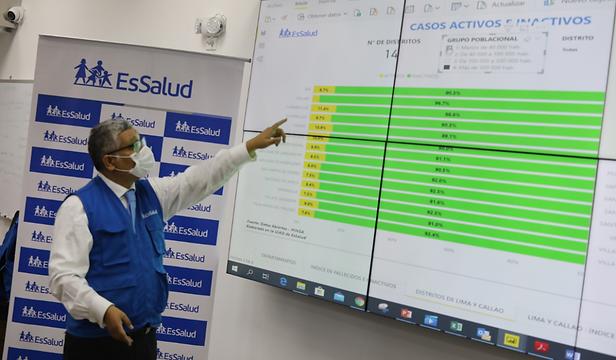 Con un 54% Cusco es líder en disminución de los casos covid-19 en el Perú