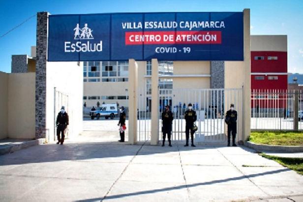 418 pacientes son dados de alta de la Villa EsSalud Cajamarca