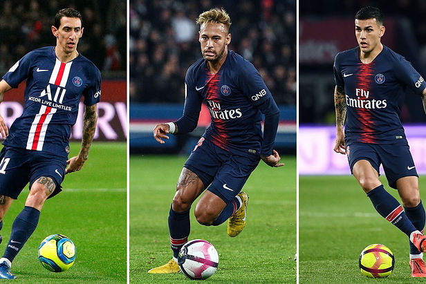 Neymar, Di María y Paredes resultan positivo a covid-19