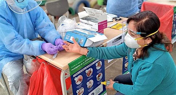 Más de 5 mil pacientes están hospitalizados por covid-19 en Perú