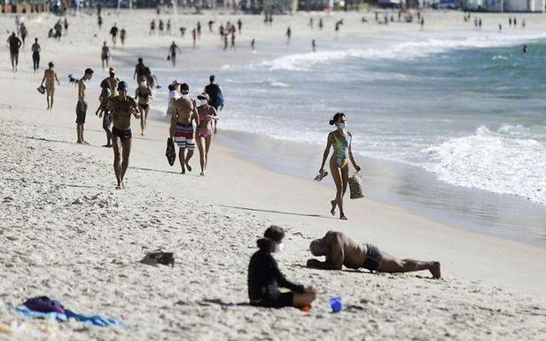 Brasil registró 447 muertes por covid-19 en las últimas 24 horas