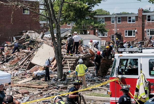 Explosión de gas en Baltimore deja al menos un muerto y 5 heridos