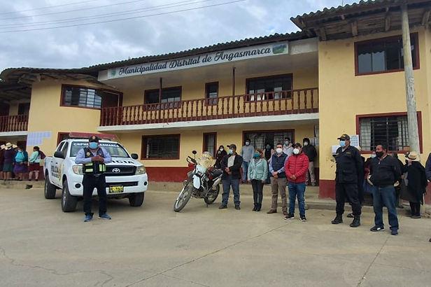 Seguridad ciudadana en Angasmarca es reforzada con vehículos motorizados