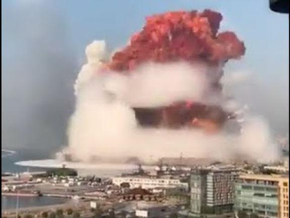 Más de 73 muertos y 3 mil 700 heridos dejo explosión en Beirut