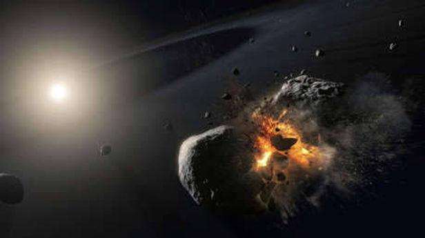 Cinco asteroides pasarán cerca de la Tierra esta semana