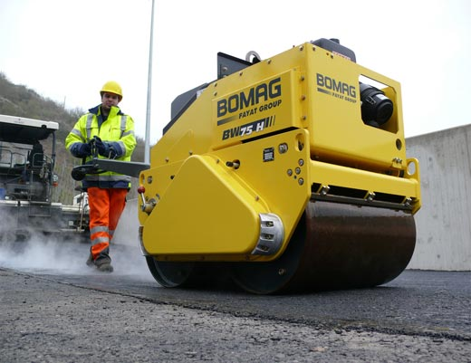 Bomag Double Drum Roller