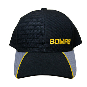 Bomag Baseball Cap Black-Grey