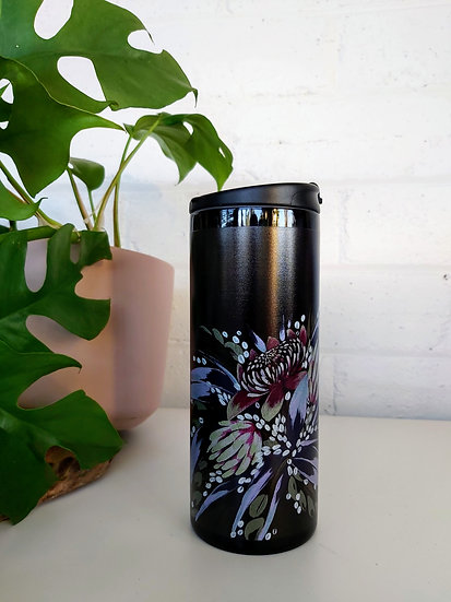 Now & Forever Floral  Thermal Travel Mug