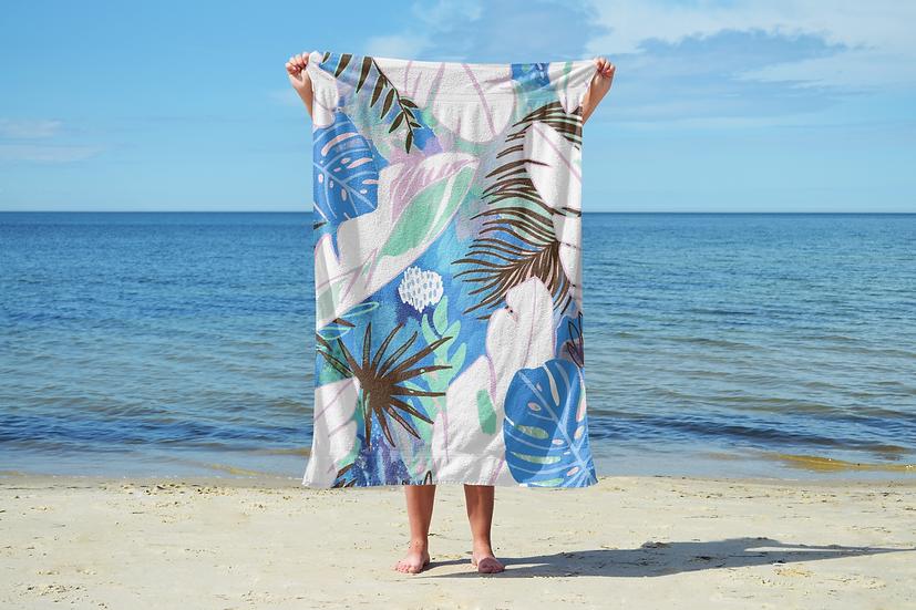 Tropics Sand Free Beach Towel