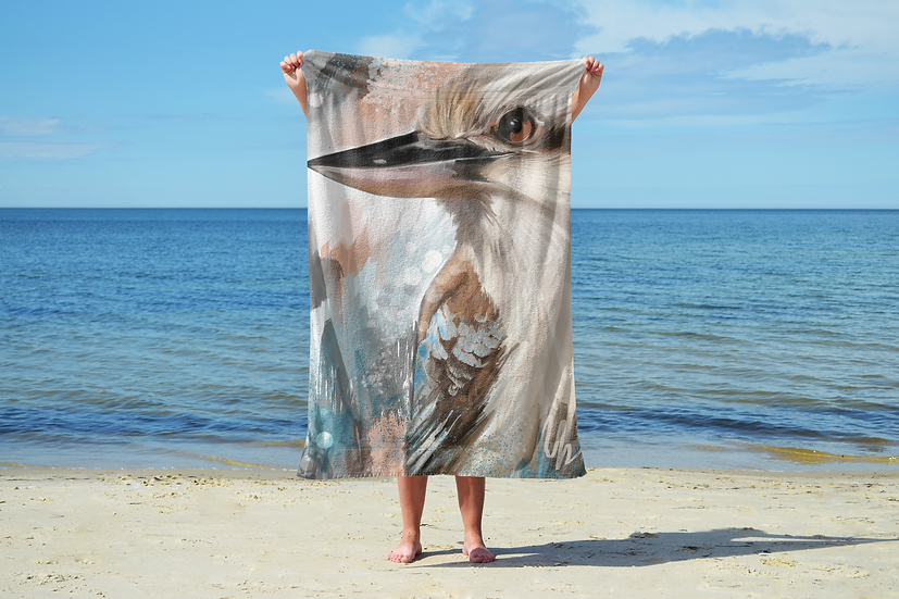 Kookaburra Sand Free Beach Towel