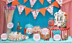 circus carnival birthday party ideas candy bar 3.jpg
