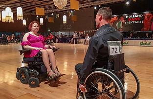 Team NIBO, Nina & Bo, ved konkurrencen Dans Spektakel i Holland 2019