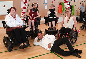 Team NIBO hold til Danish Wheelchair Dance Cup 2019