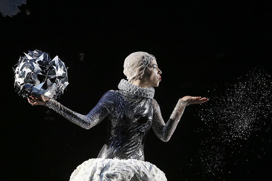 Schneekönigin in Die Schneekönigin