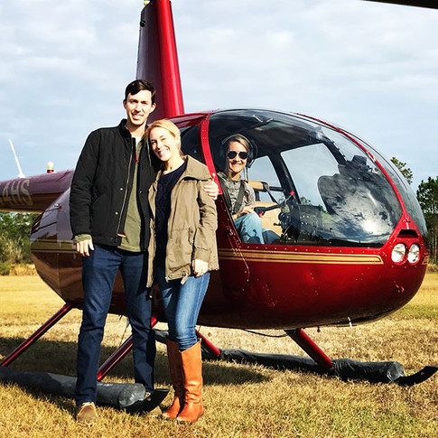 Great day for some fun flying down the beach! We hope you all had a very merry Christmas and are ready for 2018!__#helicopter #pensacolabeac