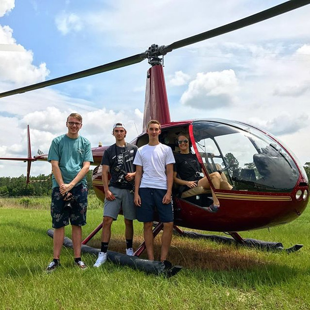 Great time flying these guys all the way