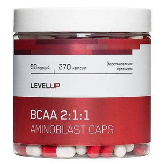 Level Up Aminoblast BCAA caps (270капс)