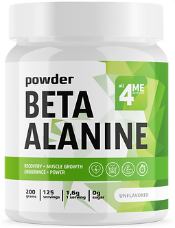 4Me Nutrition Beta Alanine powder (200г)