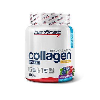 Be First Collagen + vitamin C powder (200г)