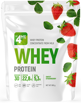 4Me Nutrition WHEY (BAG) 900г