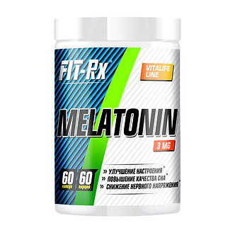Fit-RX Melatonin 3mg (60таб)