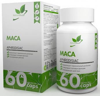 NaturalSupp MACA (60капс)