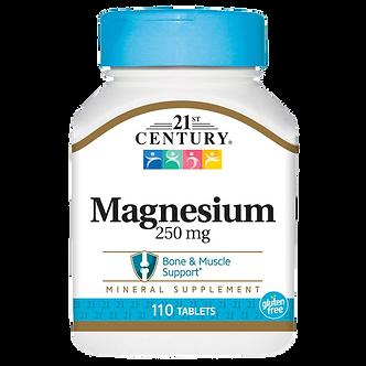 21 CENTURY Magnesium 250 mg (110таб)