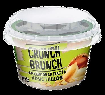 Crunch Brunch Арахисовая паста Хрустящая (200г)