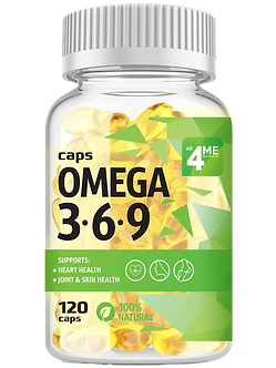 4ME Nutrition Omega 3-6-9 (120капс)