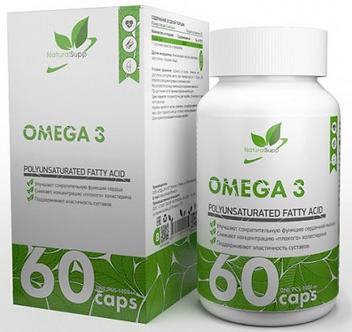 NATURALSUPP Omega-3 1000мг (60капс)