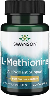 Swanson L-Methionine 500mg (30капс)
