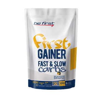Be First First Gainer Fast & Slow Carbs (1000 г)