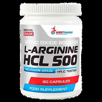WestPharm L-Arginine HCL 500 (90капс)