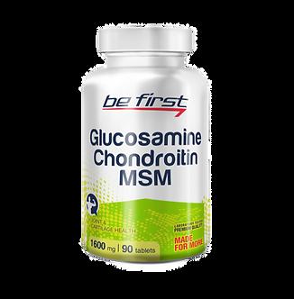 Be First Glucosamine + Chondroitin + MSM (90таб)