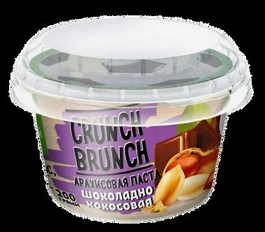 Crunch Brunch Арахисовая паста Шоколадно-кокосовая (200г)
