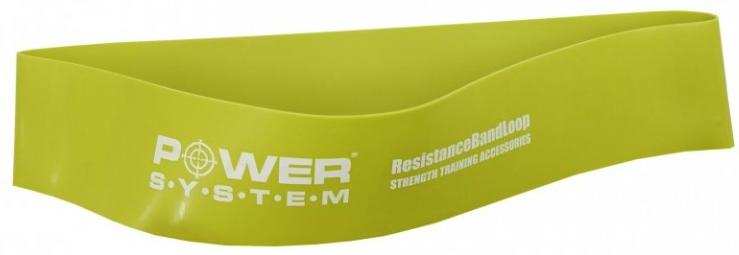 Power System резинка для фитнеса (средняя нагрузка)